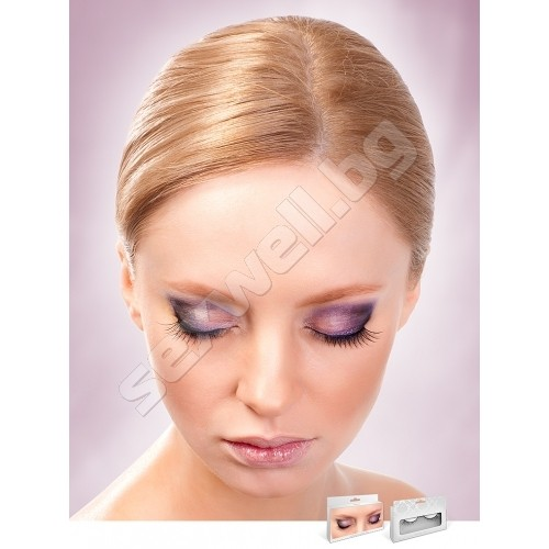 BLACK PREMIUM EYELASHES 672