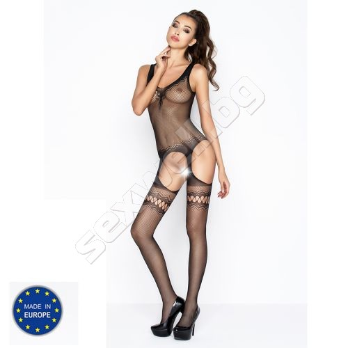 Bodystocking with openings, crotchless