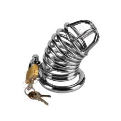 Chastity cage, metal