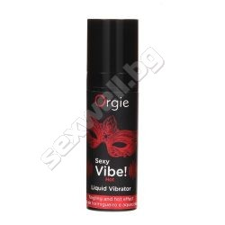 Liquid vibrator Orgie, hot