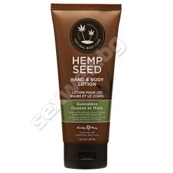 Body lotion with hemp seed Guavalava