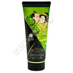 Kissable massage cream pear, green tea