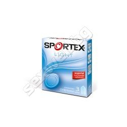 Sportex Light comdoms, 3 pcs
