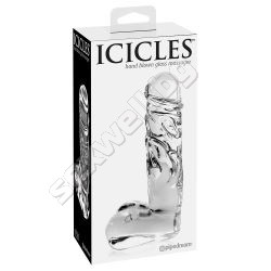 Glass dildo Icicles No.40