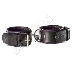 Ankle cuffs for women HEIDI, leather
