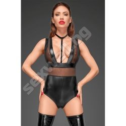 Wetlook body with wide straps