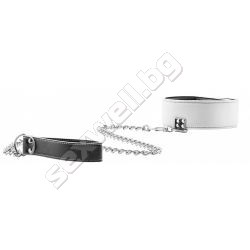 Reversible collar with leash