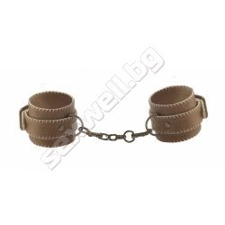 Ankle cuffs, premium leather