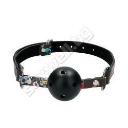 Breatheable Ball Gag - Old School Tattoo