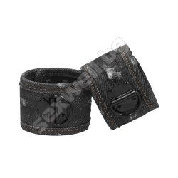 Denim Handcuffs - Roughend Denim Style