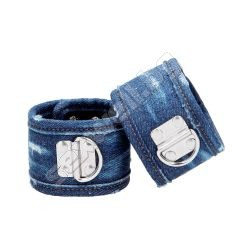 Denim Ankle Cuffs - Roughend Denim Style