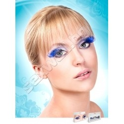 BLACK- BLUE DELUXE EYELASHES