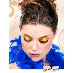BLACK-BLUE PREMIUM EYELASHES 553