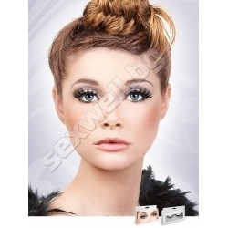 BLACK DELUXE EYELASHES 565