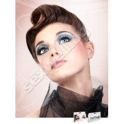 BLACK DELUXE EYELASHES 597