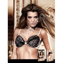 Lace max cleavage bra with underwire