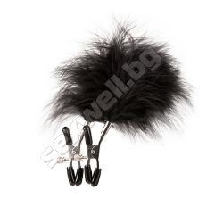 Feathered nipple clamps GP