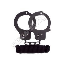 Bondx Metal Cuffs And Love Rope Set