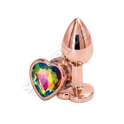 Rear Assets rose gold heart S multicolor