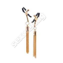 Nipple clamps with tassle GP PREMIUM