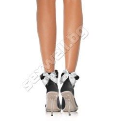 Stocking Bow BLK/WHT
