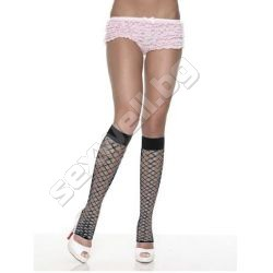 Fence Net Leg Warmers BLACK