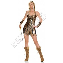 Viniyl Warrior costume