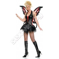 Dark Butterfly Costume M