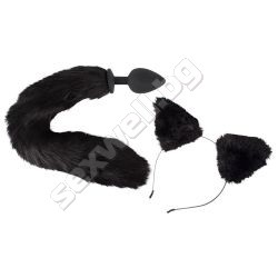 Bad Kitty pet play plug and ears