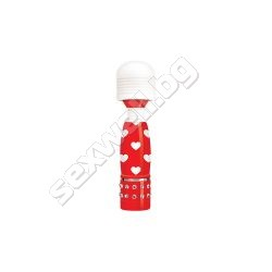 Bodywand Mini Massager, heartbreaker