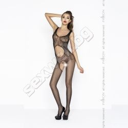 Bodystocking with wide straps, crothless