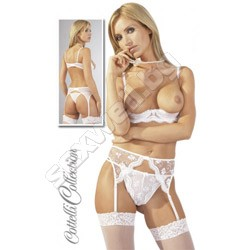 Suspender Set 75B/S WHITE