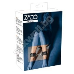 Leather anklecuffs ZADO