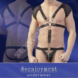 Body combined of a harness and jock