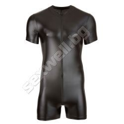 Playsuit with a zip, for men
